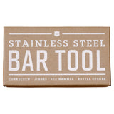 4-in-1 Bar Tool - Stainless Steel