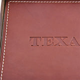 Texas Leather Valet Tray - Brown