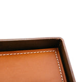 Texas Leather Valet Tray - Tan
