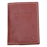 Republic of Texas Passport Holder - Brown