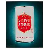 Lone Star Beer Can Print