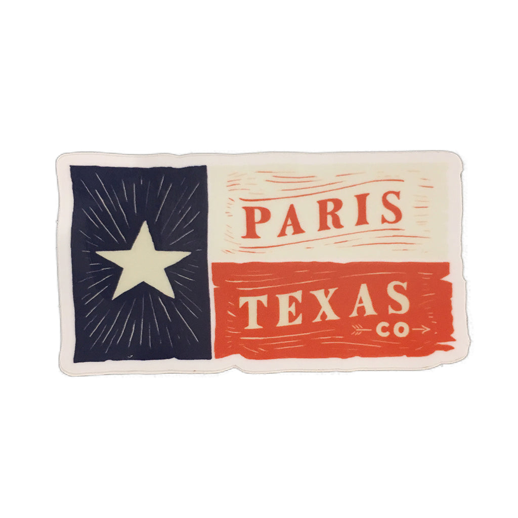 Lone Star Flag Decal