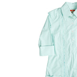 Monterey Women's Guayabera Dress - Mint