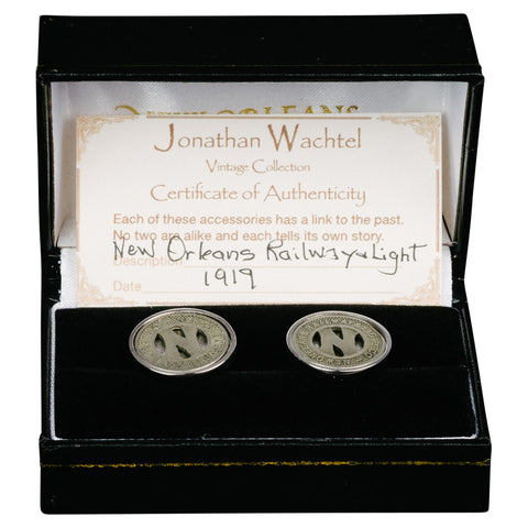 Texas State Seal Stud Set & Cufflinks