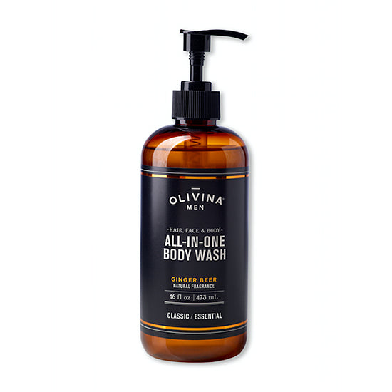 Olivina Men All-In-One Body Wash Ginger Beer