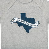 Come & Change It Onesie