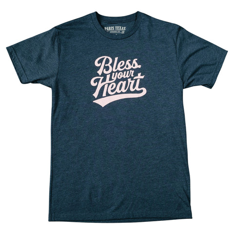Bless Your Heart T-Shirt - Midnight Navy