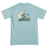 Don't Tread on Me Pocket T-Shirt - Ice Blue