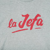 La Jefa T-Shirt - Heather Grey