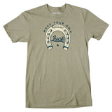 Make Your Own Luck T-Shirt - Light Olive