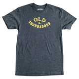 Old Troubadour T-Shirt - Charcoal