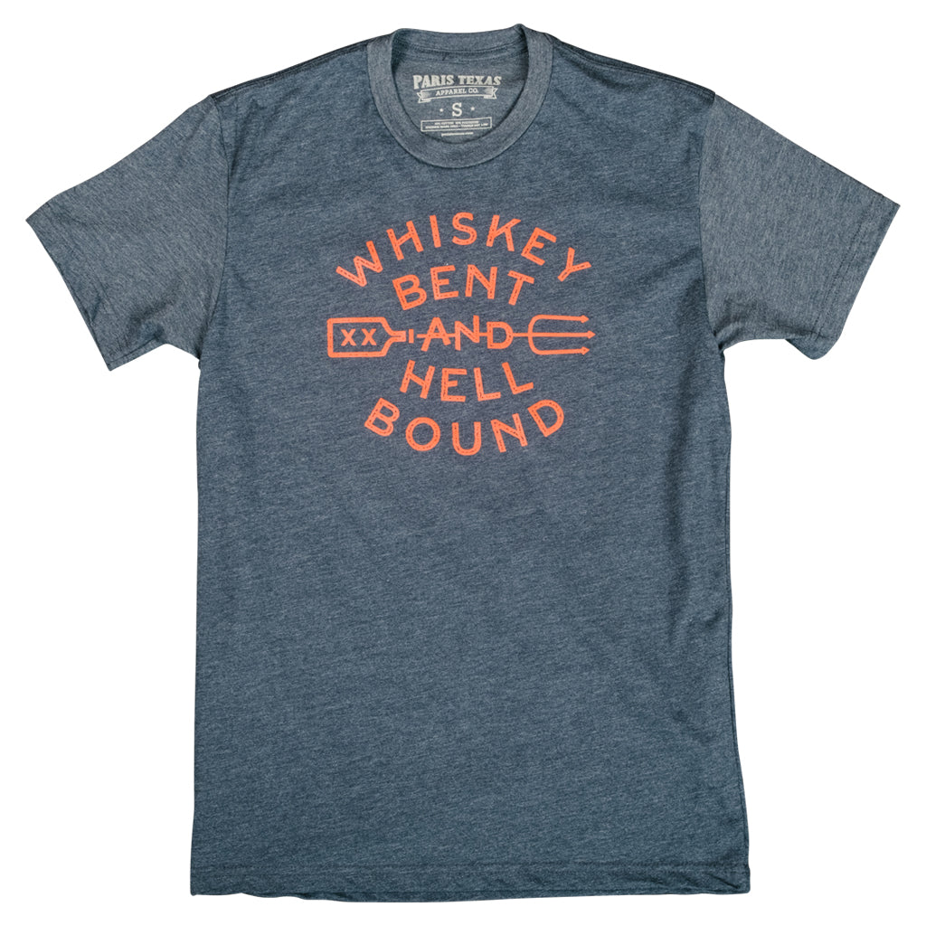 Whiskey Bent T-Shirt - Midnight Navy