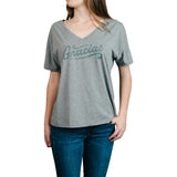 Gracias Women's V-Neck T-Shirt - Grey