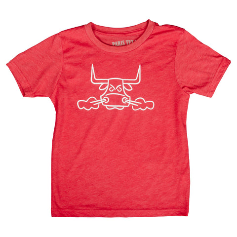 Angry Bull Toddler T-Shirt