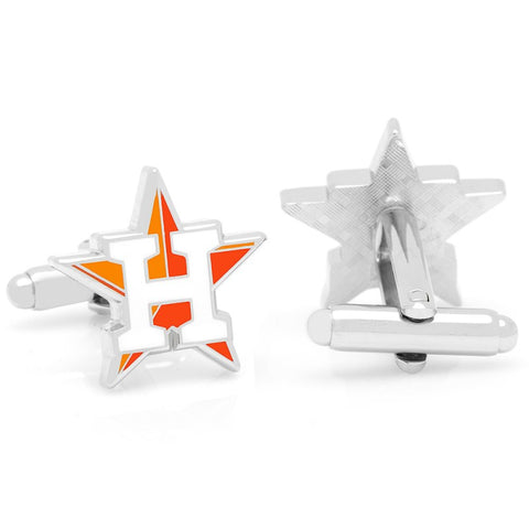 Texas Shape Flag Cufflinks
