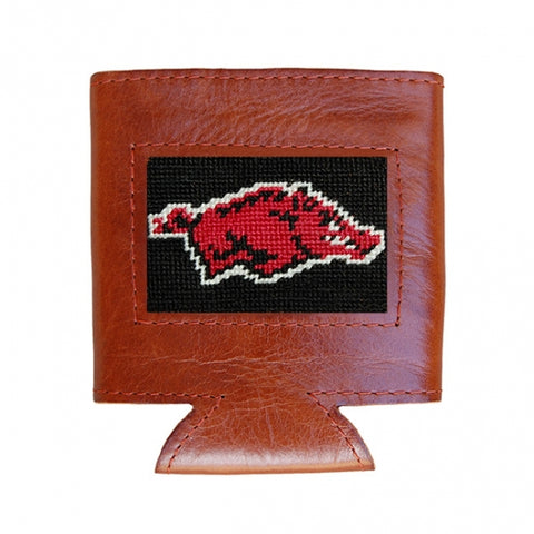 Arkansas Needlepoint Can Cooler