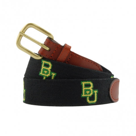 Baylor University Needlepoint Belt