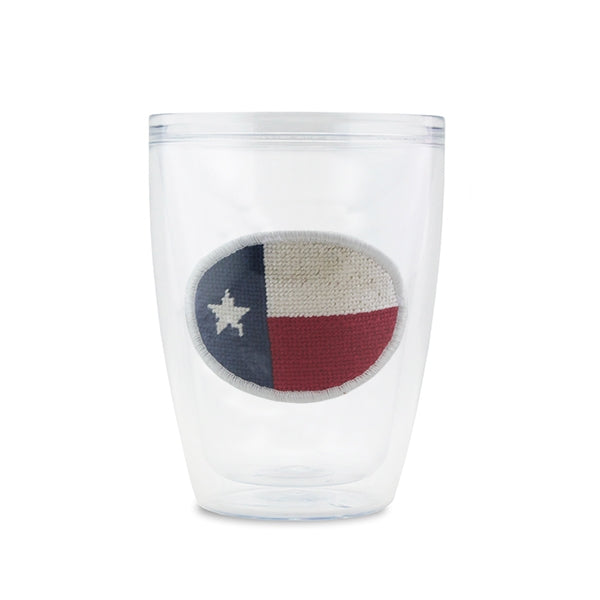 Big Texas Flag Needlepoint Tumbler