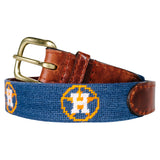 Houston Astros Children's Needlepoint Belt