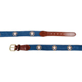 Smathers & Branson Houston Astros Needlepoint Belt