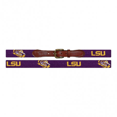 LSU Needlepoint Belt