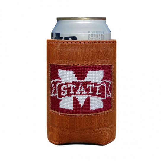 Smathers & Branson Mississippi State Needlepoint Can Cooler