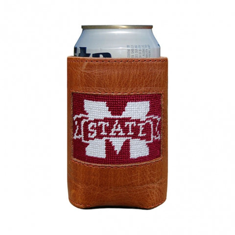 Mississippi State Needlepoint Can Cooler