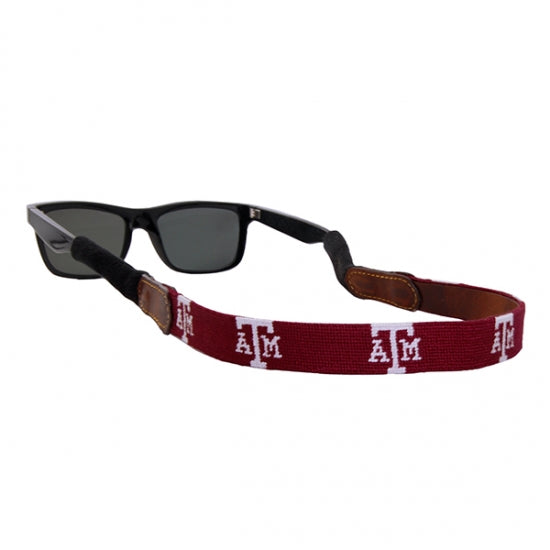 Texas A&M Needlepoint Sunglass Strap