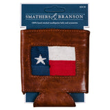 Smathers & Branson Texas Flag Needlepoint Can Cooler