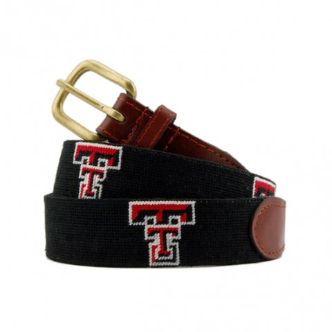 Texas Tech Needlepoint Belt