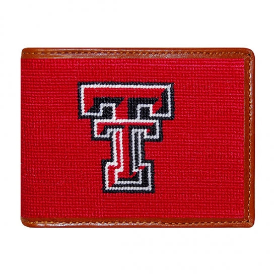 Texas Tech Needlepoint Bi-Fold Wallet