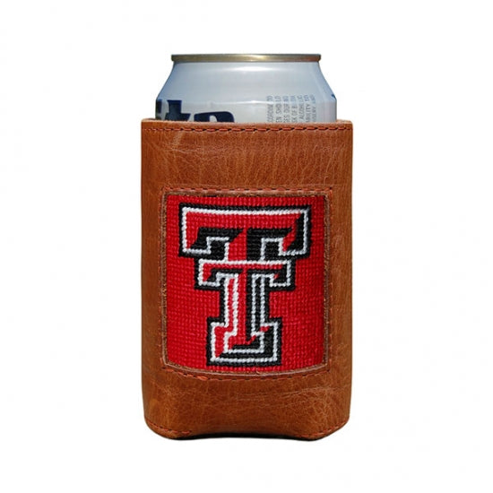 Smathers & Branson Texas Tech Needlepoint Can Cooler