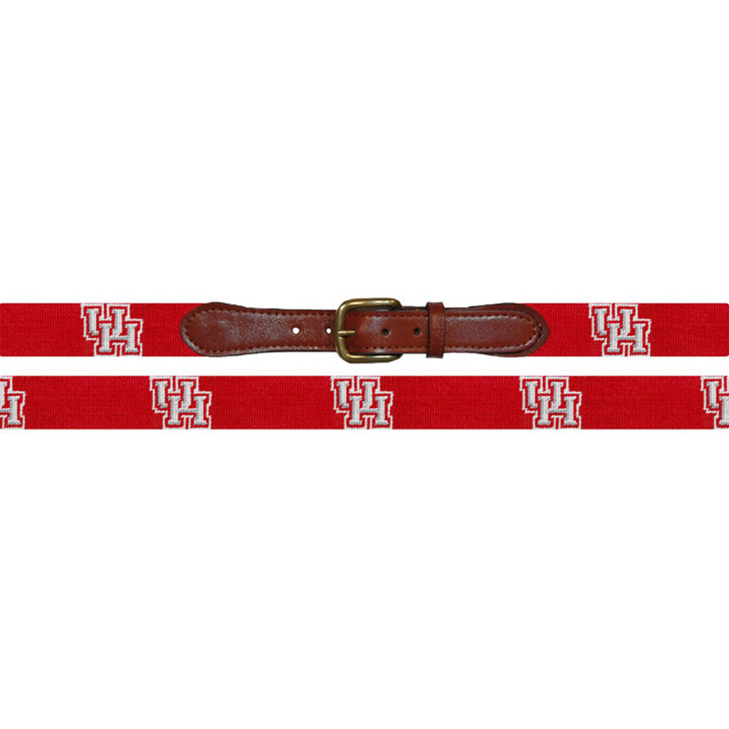 University of Houston Needlepoint Belt