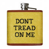 Smathers and Branson Gadsden Flag Needlepoint Flask