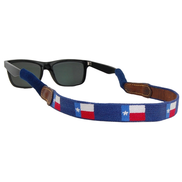 Texas Flag Needlepoint Sunglass Straps