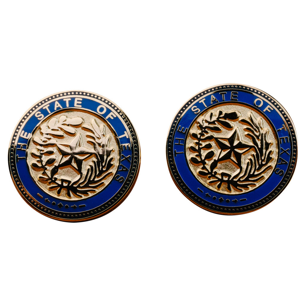 State of Texas Seal Cufflinks