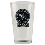 You May All Go To Hell Pint Beer Glass