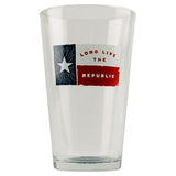 Texas Barware Pint Beer Glass