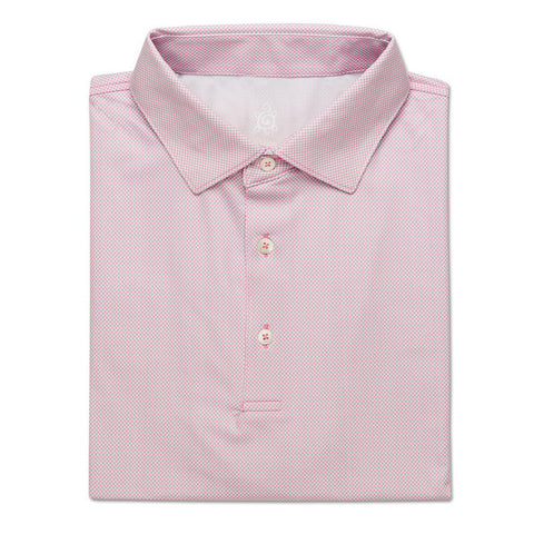 Checker Jacquard Performance Shirt - Orchid