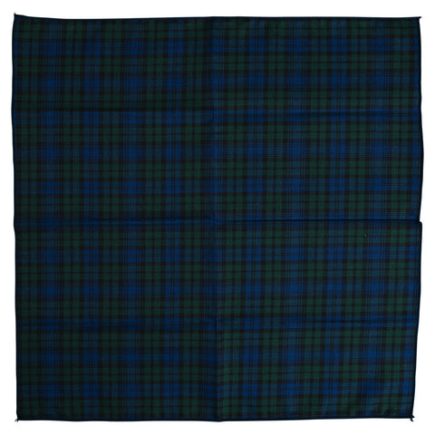 Wrong Side Pocket Square - Black Watch Plaid