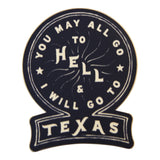 The Texas 6-Pack (6 Decal Stickers)