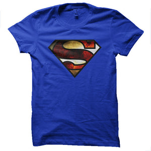 Superman Space Logo Men's T-shirt