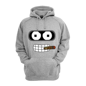 Sweat-Shirt Futurama Bender et son cigare