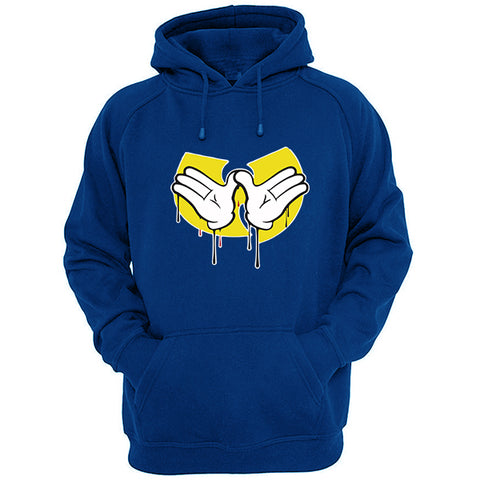 Mickey Mouse hands Wu tang signs hoodie