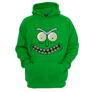 Rick and Morty Rick angry pickle face Hoodie