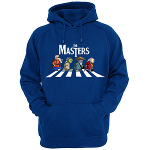 Sweat-Shirt Master Roshi, Yoda, Old Master Dohko, Dungeon Master parodie The Beatles