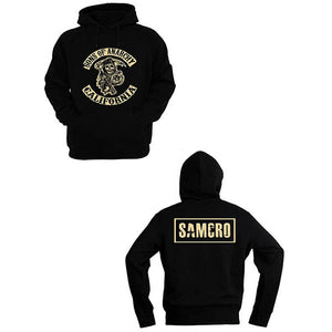 SAMCRO Crew Sons Of Anarchy back and front hoodie
