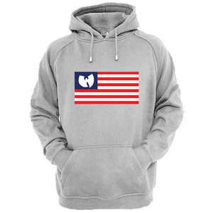 Sweat-Shirt Wu Tang Clan Drapeau americain
