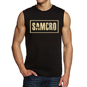 Sons of Anarchy SAMCRO Sleeveless Men's T-Shirts