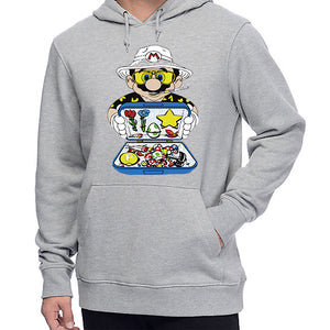 Sweat-shirt Mario Dealer parodie Las Vegas Parano